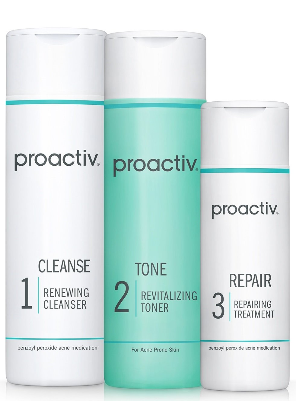 Proactiv Solution 3-Step Acne Treatment System (60 Day Original Acne Kit) by Proactiv