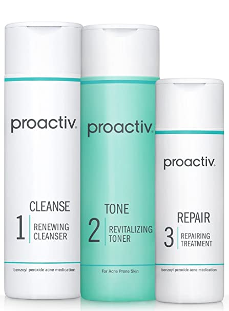 Proactiv Solution 3-Step Acne Treatment System (60 Day Original Acne Kit) best men's skincare set