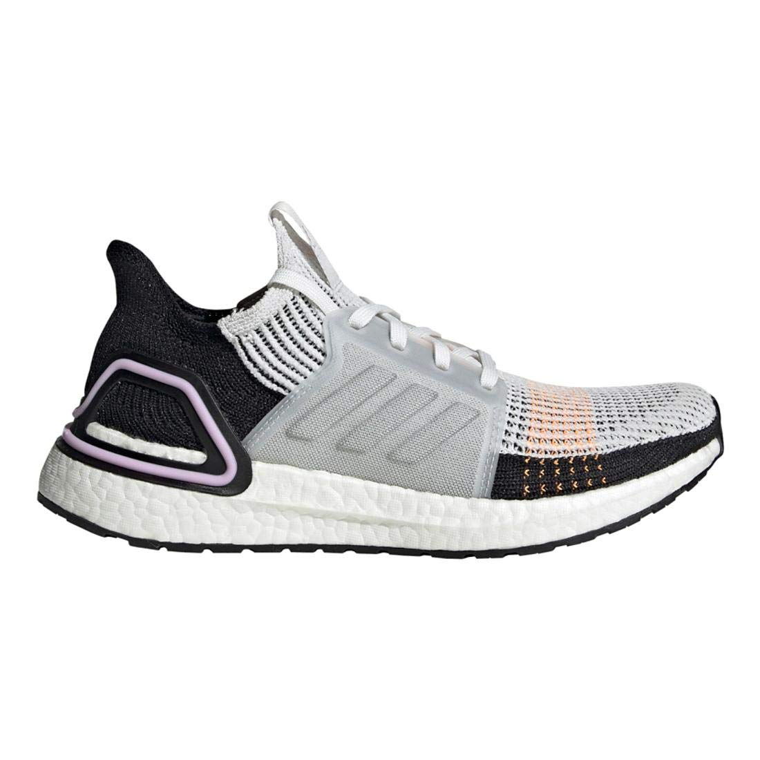 adidas Women's Ultraboost 19 Running Shoe, Crystal White/Black, 9 M US by adidas