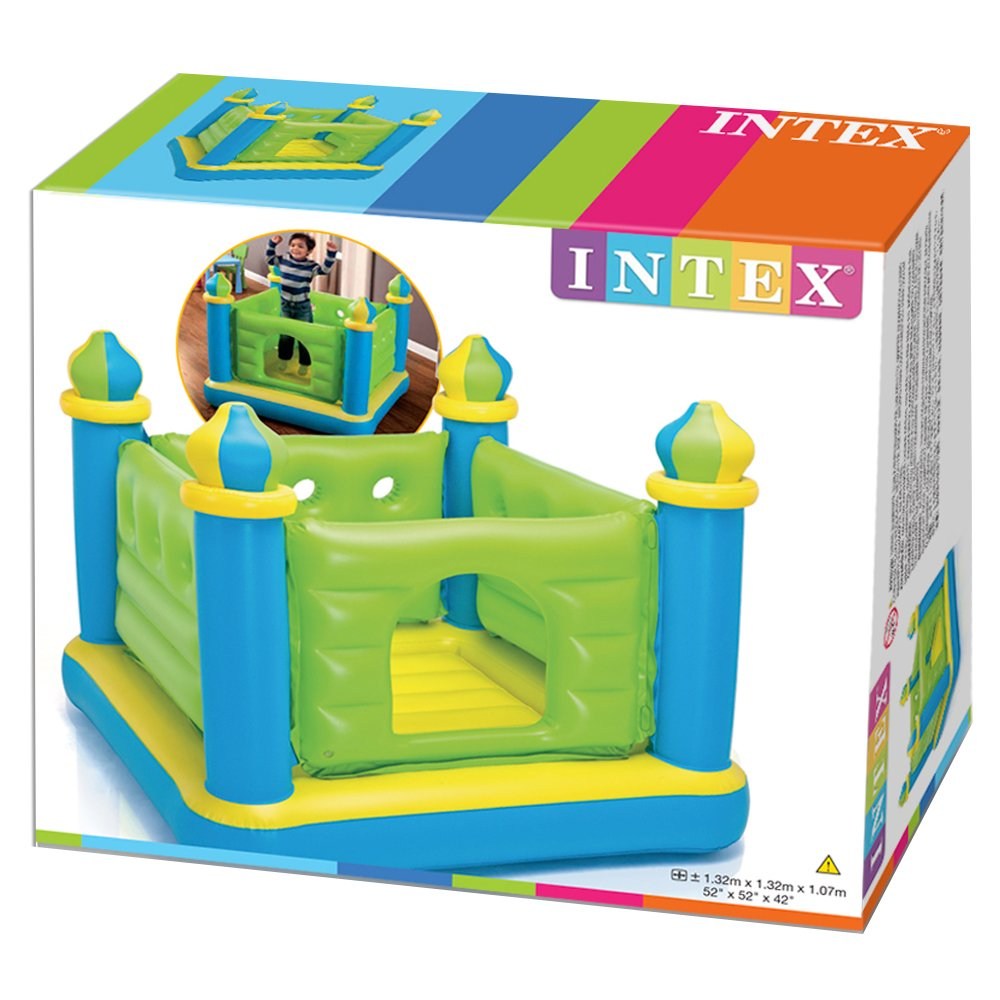 Intex 48257NP - Castillo Saltador Hinchable: Amazon.es: Juguetes y ...