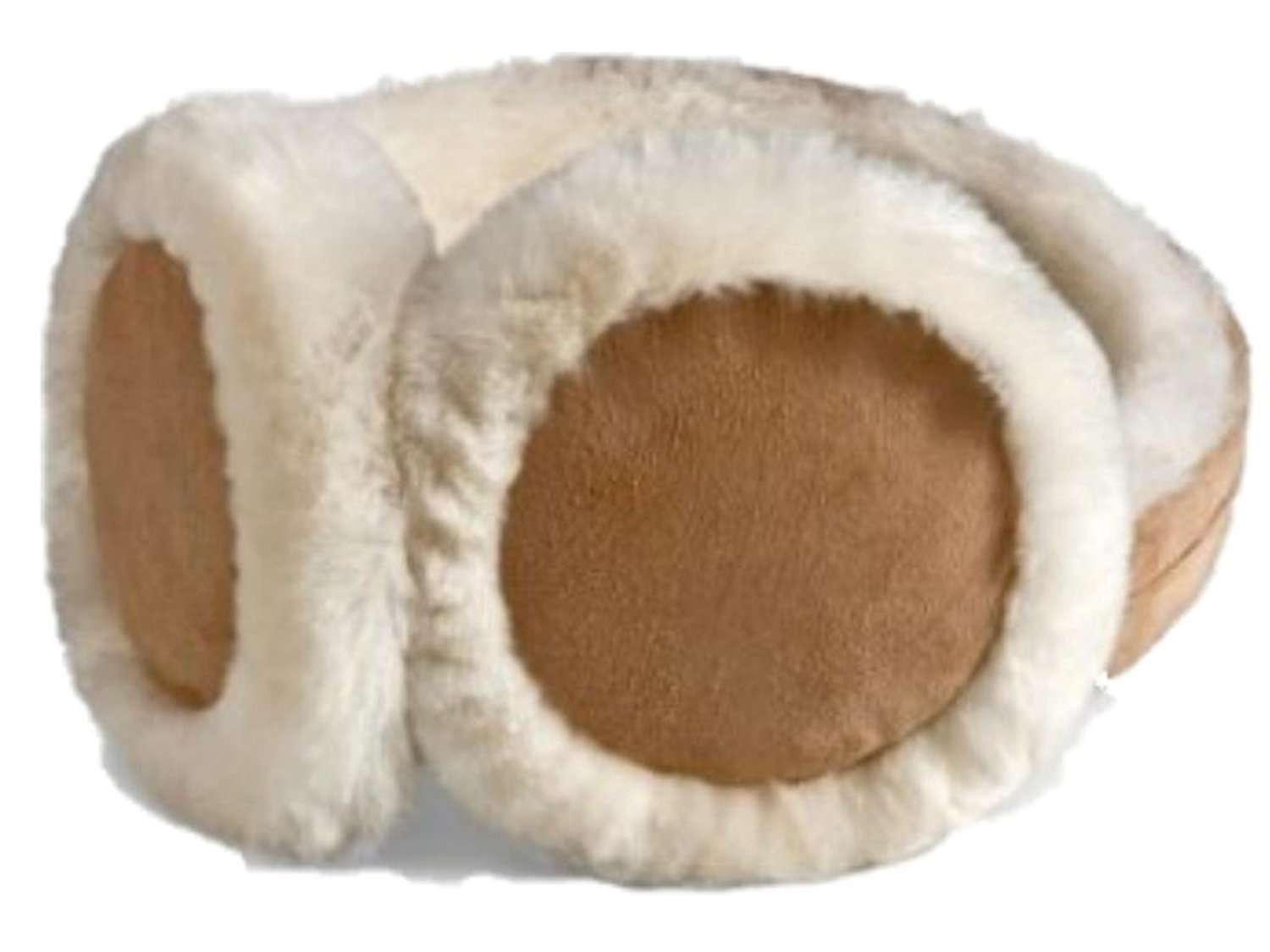 HEAD Woman's Ear Warmers Earmuffs with Genuine Shearling Sheepskin 78373