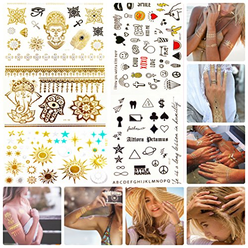 Temporary Tattoos by CUPID - Luxury Jewelry - Body Paint New Style Art Amazing