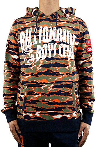 Billionaire Boys Club Shop (Billionaire Boys Club TIger Camo Hoodie SMALL ORANGE)