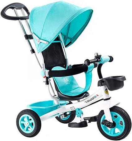 Triciclos Bebes 1 Año,4 en 1 Niños Triciclo De Rueda Bicicleta ...