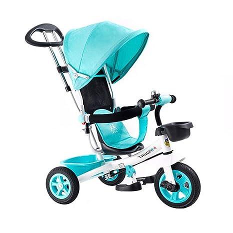 SSLC Triciclos Bebes 1 Año,4 en 1 Niños Triciclo De Rueda ...