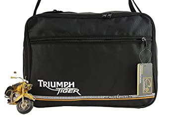 m4b: Triumph Tiger 800, 800XC XC, Explorer: Bolsas Interiores para Maletas Laterales Moto: Amazon.es: Coche y moto