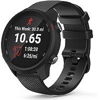 TUSITA Quick Release 20mm Horlogeband voor Garmin Approach S40 S12 S42,Forerunner 245 645,Venu Sq,Vivoactive 3 Music…