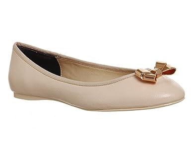 f7b6873b7d8fbc Ted Baker Imme 2 Ballerina Light Pink Patent Leather - 5 UK  Amazon ...