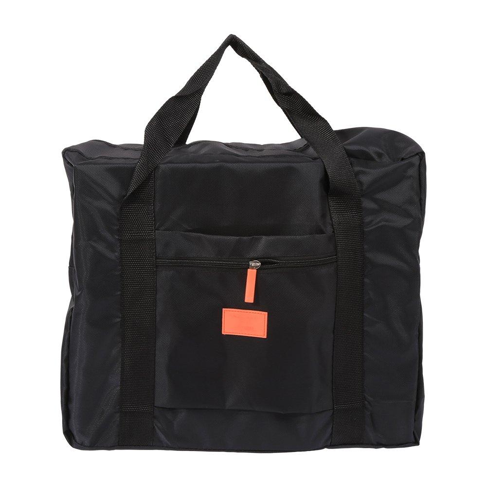 Travel Duffle Luggage Bag forレディースメンズ、折りたたみ式大容量服ストレージ軽量機内持ち込みRecieve荷物オーガナイザー16.5