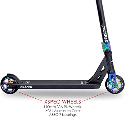 Amazon.com: Xspec - Patinete completo Pro Stunt con manillar ...