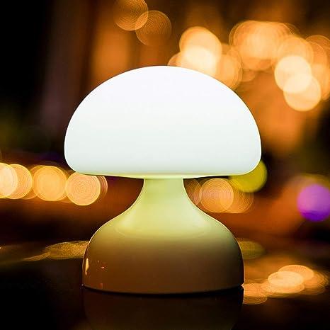 SaraHew74 Batería Recargable USB Luz de la Noche Lámpara de ...