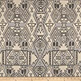Justina Blakeney Nav Jacquard Stone Fabric By The Yard