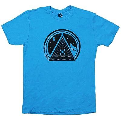 "HOOEY ""Chord"" Turquoise Crew Neck T-Shirt | .com"