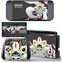 Ci-Yu-Online VINYL SKIN [NS] Pokemon Sun Moon Solgaleo STICKER DECAL COVER for Nintendo Switch Console and Joy-Con Controllers