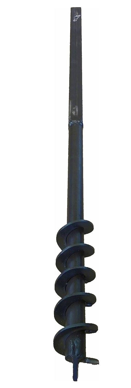 Erdbohrer Erdlochbohrer Brunnenbohrer Pfahlbohrer 70 mm Bohrkopf Handerdbohrer MWS-Apel