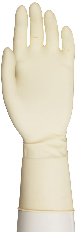 Microflex Ultra One Latex Glove, Powder Free, Extended Cuff, 11.8 Length, 9.8 mils Thick by Microflex  B00474RH2Y