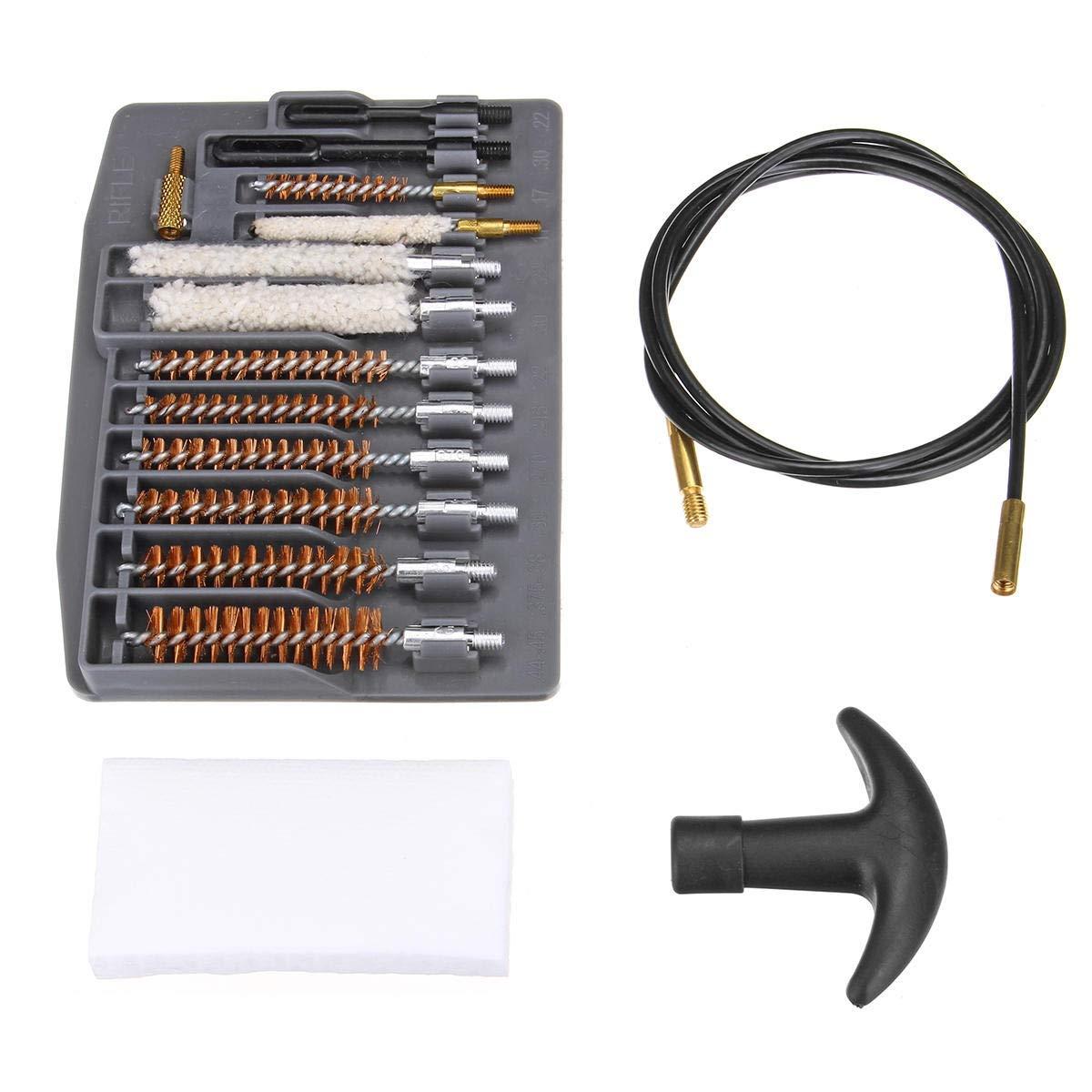 Abrasives 16-in-1-Rohr-Reinigungs-Schleifwerkzeug Universal-Rohrb/ürsten-Reinigungsset f/ür