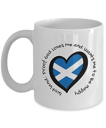 Amazon com: Scotland Lovers Coffee Mug - Scottish Gifts