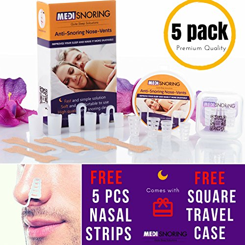 Stop Snoring Nose Vent Premium Set 5 In 1 Advanced Anti