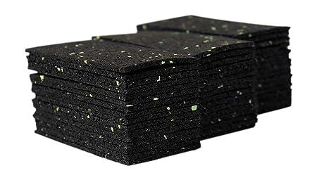 192 Stück 3 mm 50 x 100 mm Terrassenpad, Terrassenpads, Gummigranulat, Terrassenbau