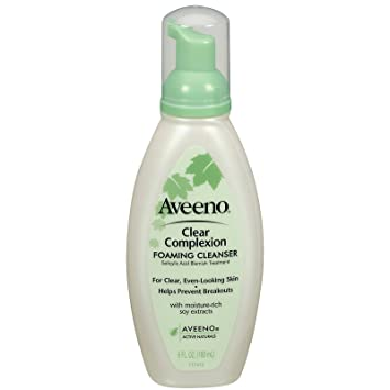 Good Aveeno facial cleansers are