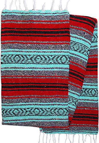El Paso Designs Mexican Yoga Blanket Colorful 47in x 68in Yo