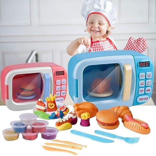 Casa de cocina juguetes Play House juguete para niños microondas ...