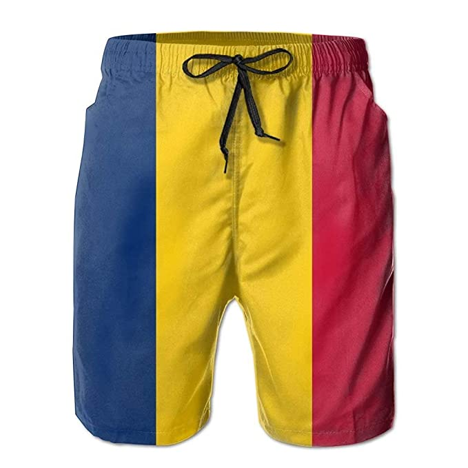 0db30af8cc Amazon.com: Jay94 Flag of Chad Casual Cool Relaxed Men Summer ...
