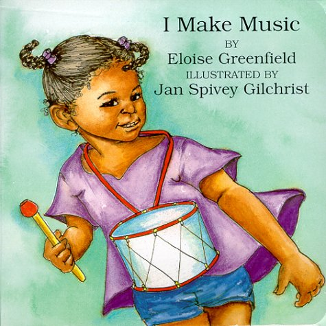 I Make Music (Black Butterfly Board Books) (Make Babies Music)