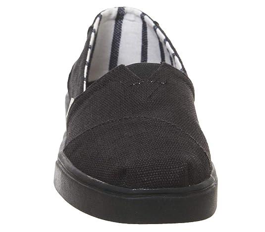 Amazon.com | TOMS Womens Alpargata Cupsole Canvas Shoes | Fashion Sneakers