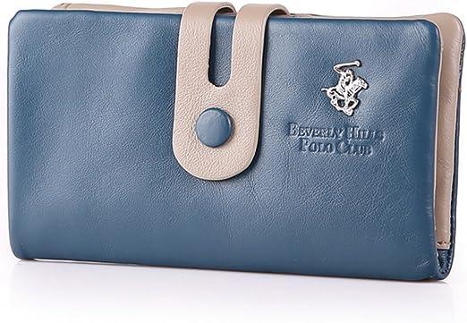 BEVERLY HILLS POLO CLUB - Cartera para mujer azul turquesa 16,5 x ...
