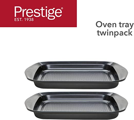 2020 Christmas Food Box 61401 Amazon.com: Prestige 61401 Oven Tray Set, Steel: Kitchen & Dining