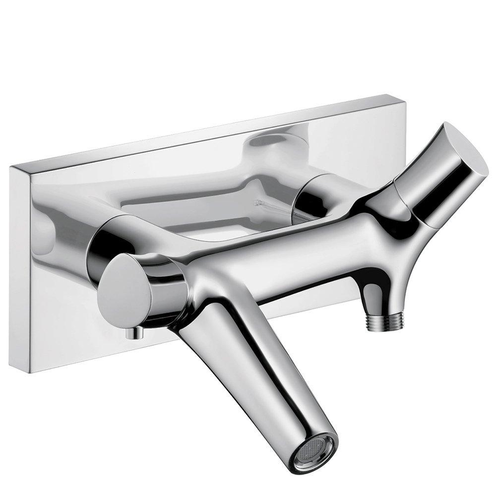 AXOR Axor 12410001 Starck Organic Thermostatic Tub Filler Wall Mounted Chrome