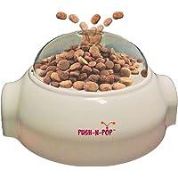 SPOT Push N' Pop - Interactive Slow Feeding Dog Food Dispenser - Award Winning - Mental Stimulation, Entertaining…