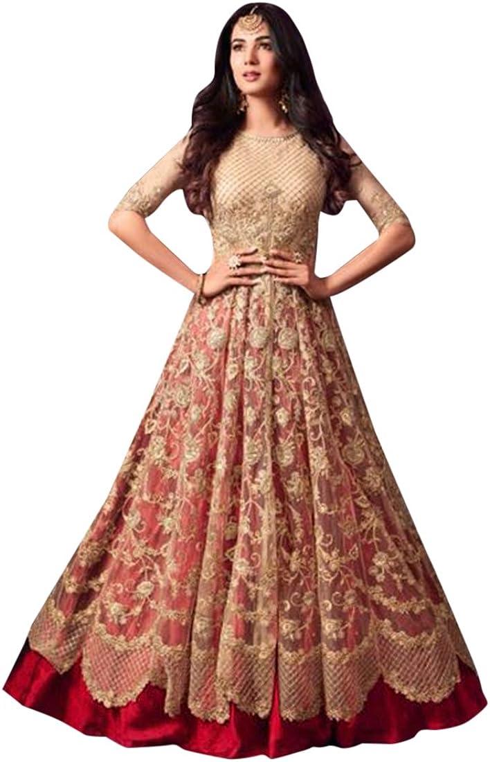 Amazon Com Ethnic Emporium Wedding Women Ceremony Floor Length Anarkali Suit Dress Custom To Measure Indian Hit 2638 Clothing,Long Sleeve Lace Ball Gown Winter Wedding Dresses