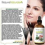 Organic Castor Oil - Boost Hair Growth for