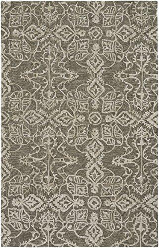Capel Rugs Edna Hand Tufted Rug - Mushroom - 5' x 8' - Rectangle
