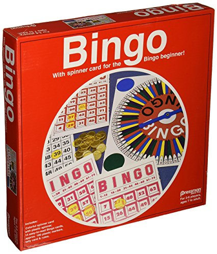 Pressman Toy Bingo in Red Box