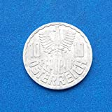 Austria 10 Groschen 1967 Coin %232