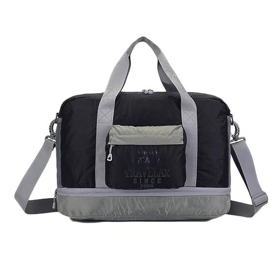 Gym Bags Mens Sports Bag Weekend Travel Bag Handbag Waterproof Collapsible Large  Capacity Boarding Bag 64d09d906e2d2
