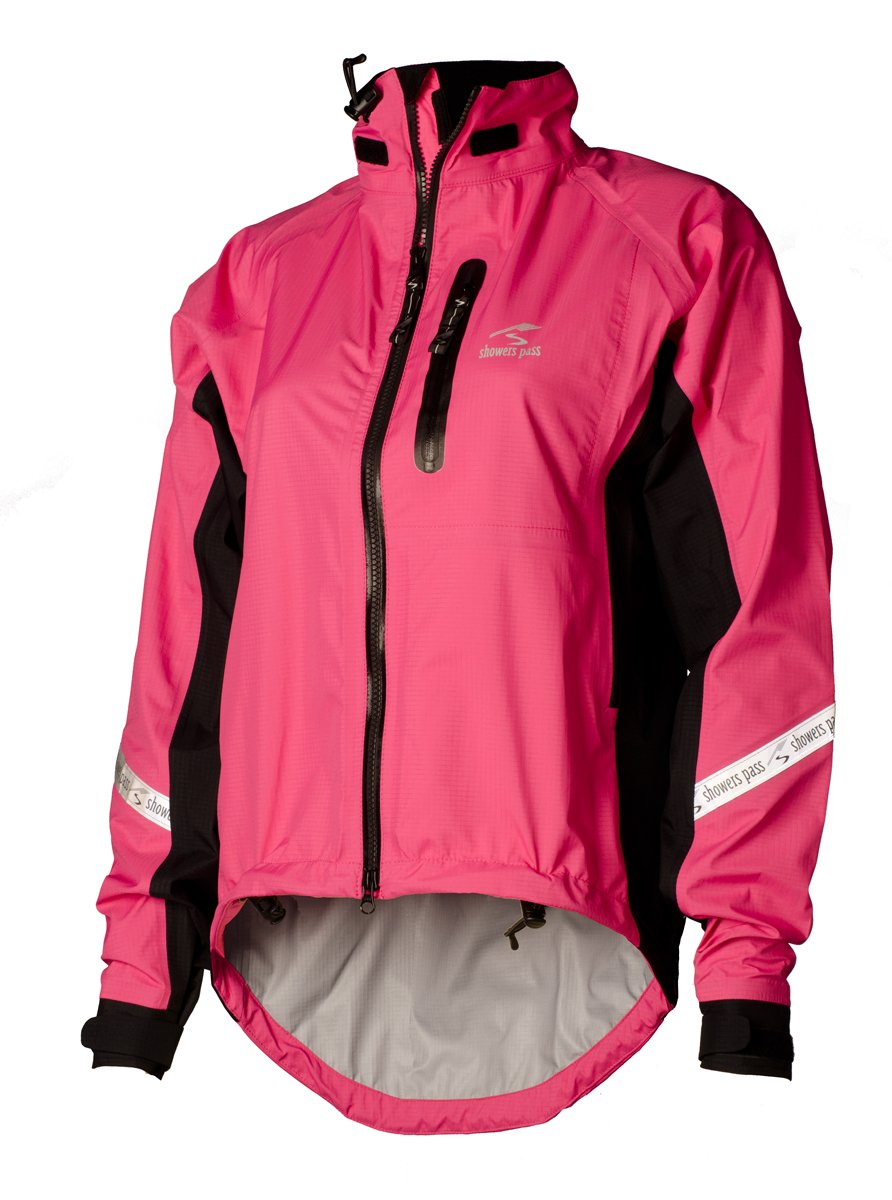 Showers Pass Women's Eliet 2.1 Jacket, Electric Rose, Small