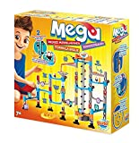 Buki Mega Marble Run Labyrinth Maze Set For Kids Age 7 And Up. Include Over 100 Interchangeable Parts