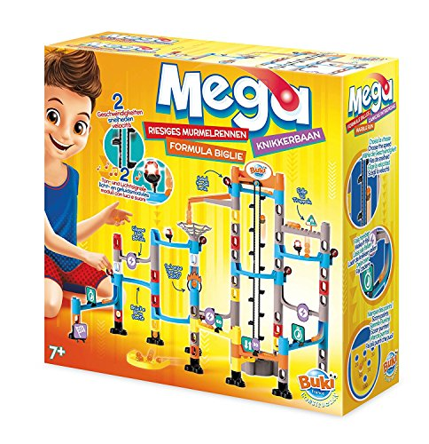 Buki Mega Marble Run Labyrinth Maze Set For Kids Age 7 And Up. Include Over 100 Interchangeable -
