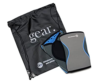 Rehband 7751 Knee Sleeves (1 pair) bundled with Gillingham High Performance Backpack
