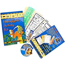Hieroglyphic Activity Kit Made in Egypt by Discoveries Egyptian Imports