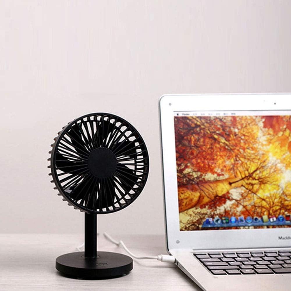WPCBAA Tabletop Portable Air Circulator Fan Small Quiet Oscillating Fan USB Mini Desk Fan for Table Desktop Home Office Personal Mini Desk Fan