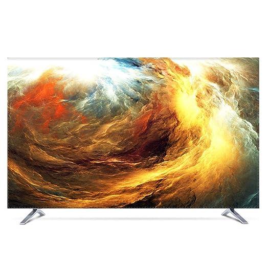 YXZN Cubiertas para TV Pantalla LCD de Moda Cubierta para Colgar de televisión Pantalla Protectora a Prueba de Polvo Universal para el hogar Protector Solar a Prueba de Agua,color1,37: Amazon.es: Hogar