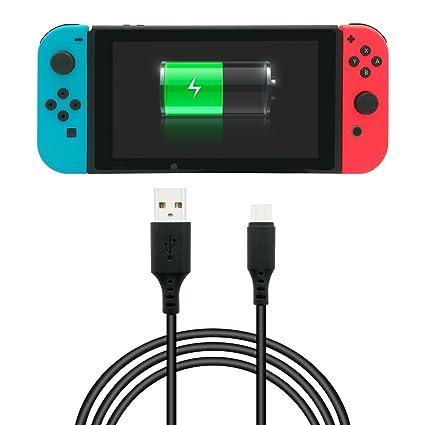 Amazon.com: Cable de carga para Nintendo Switch Fyoung, 9.8 ...