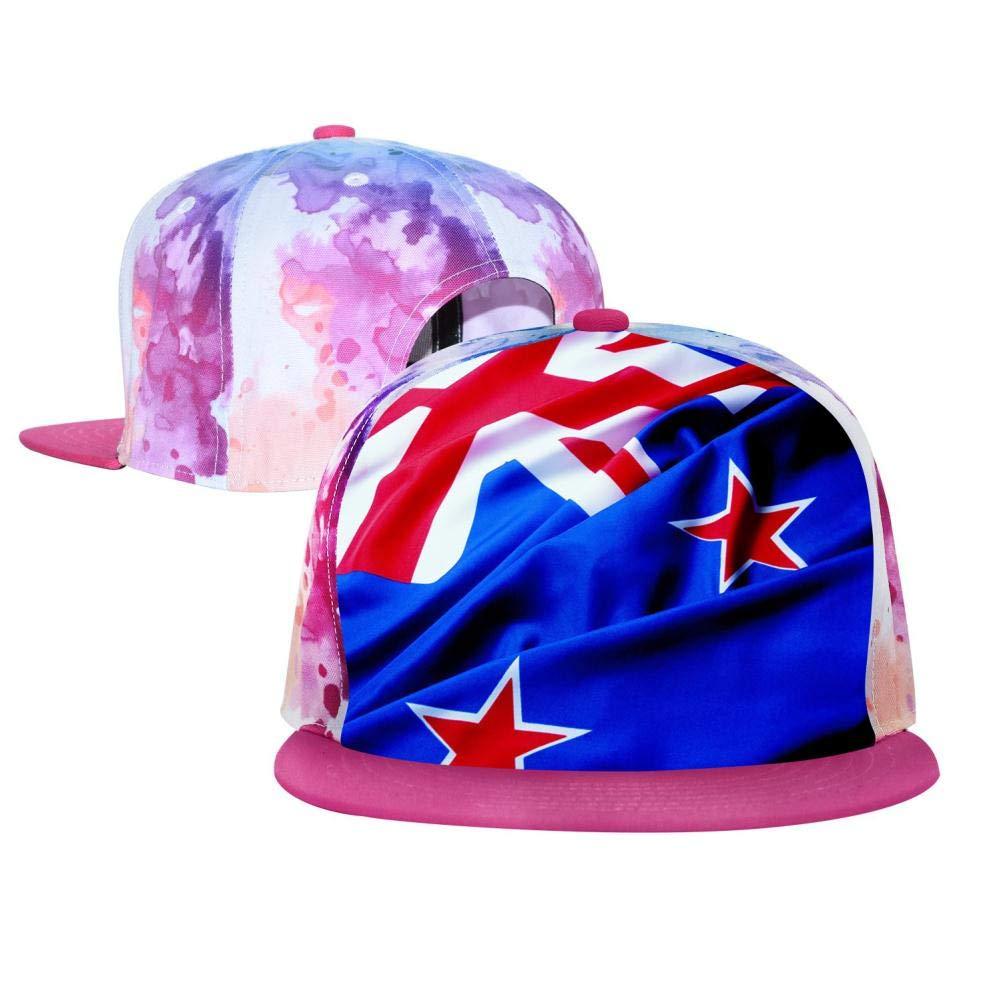 PASPTTO Australian Flag Hip Hop Hat Mens Fashion Full Frame 3D Print Adjustable Truck Driver Baseball Cap