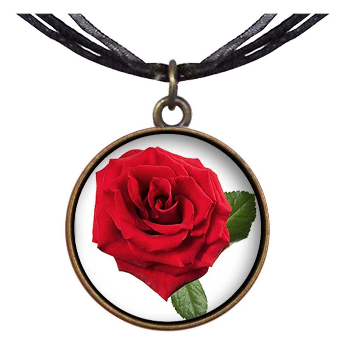 Bronce estilo Retro GiftJewelryShop rosas rojas Sagitario ...